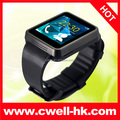CW-F1 1.55 inch capacitive touch screen Smart bluetooth watch Phone GSM Quad Band 1.3MP Camera sync with IOS and Android