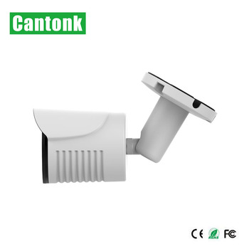 Cantonk 2mp IMX290 bullet cctv system security camera with audio and bracket