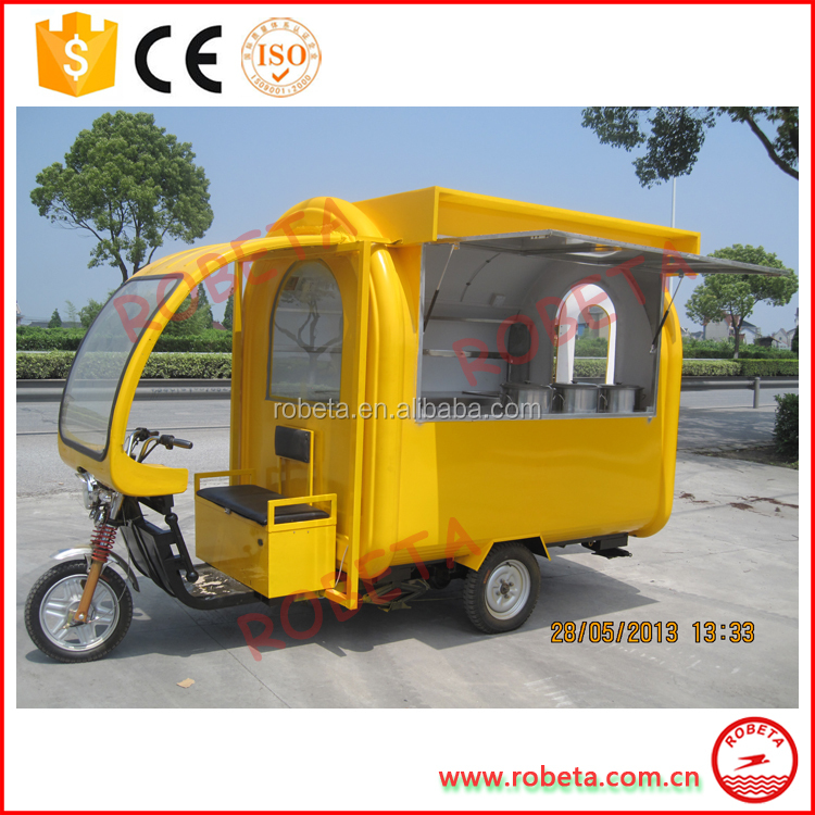 New Factory Direct Best global bike food cart frying