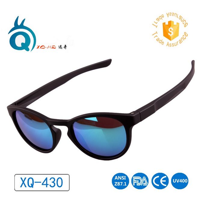 2018 New fashion hign quality men's Sunglasses with PC frame
