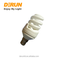 Full Sprial T3 7w 9w 11w 350lm 450lm 550lm E14 E27 9mm 230V 2700-6500K Energy Saving Bulb With CE ROHS CFL