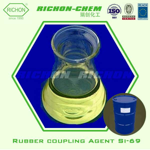 Industrial Chemicals used in the Tire of Motorcycles Made in China 40372-72-3 Rubber Coupling Agent Si-69