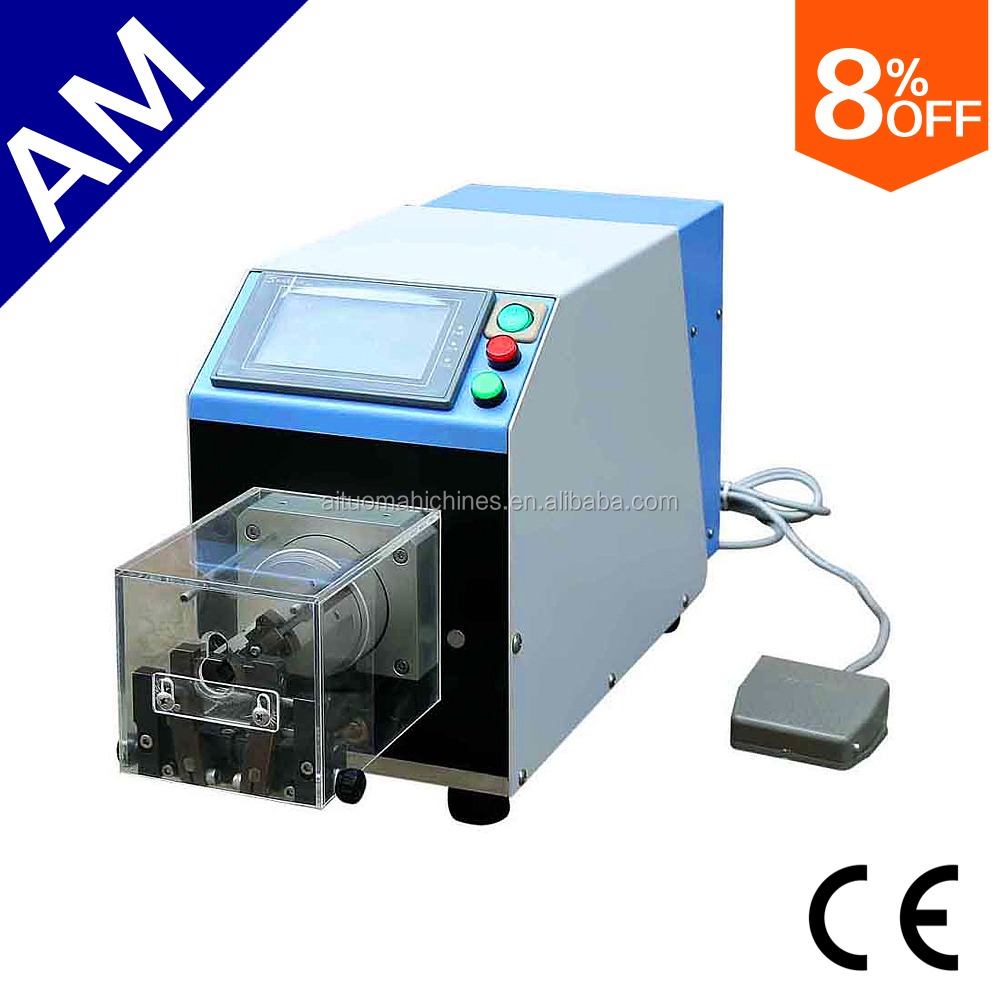 AM609 Coaxial cable stripping machine coax cable making equipment