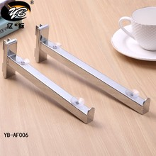 High Quality chrome metal connecting decorative shelf bracket