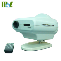 Optometry equipment LED optical visual acuity chart profile projector for optical shop