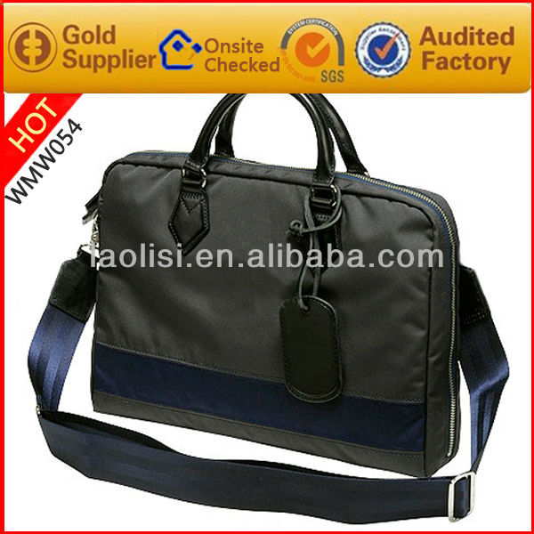 2013 new arrival polyester handbag for busness men made in china