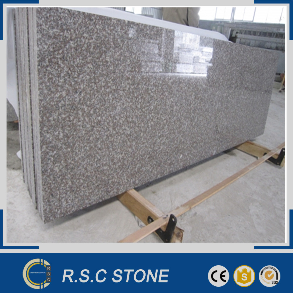 Chinese pink granite g664 misty brown granite slab wholesale