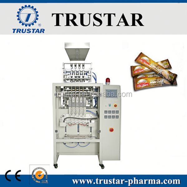multi-line coffee stick packing machine