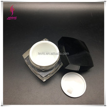 plastic acrylic cosmetic containers cream jar