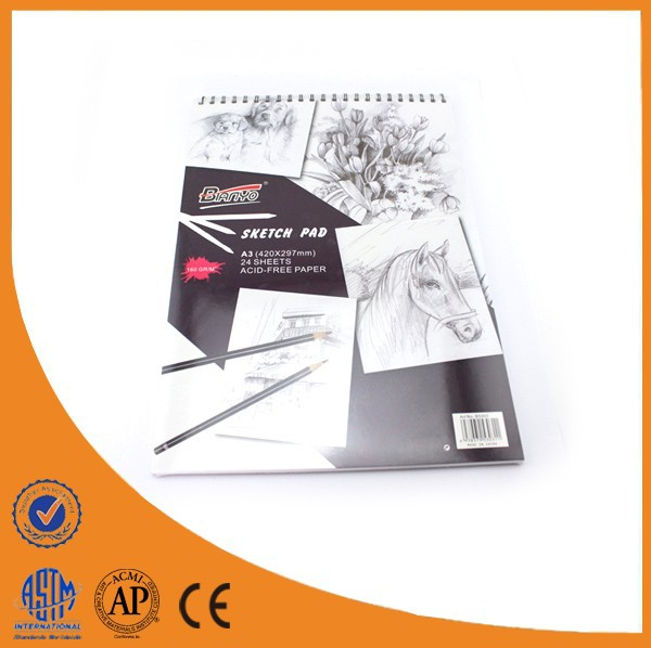 Professional A3 Sketch Book Wholesalers