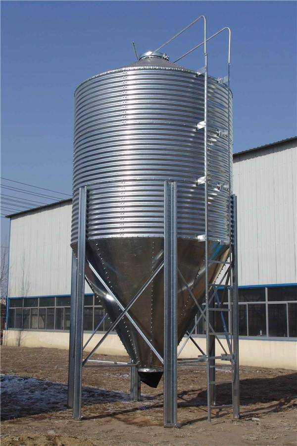 Poultry Feed Livestock Silo VariousType Galvanized