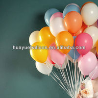2016 high quality advertising latex balloons