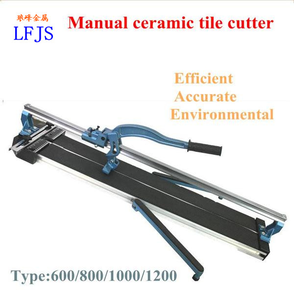 Durable manual tile cutter with Double slide bar,laser tile cutter