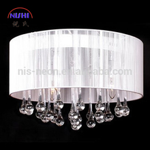 High Quality NS-120095D Italian Modern Crystal Pendant Chandelier Light