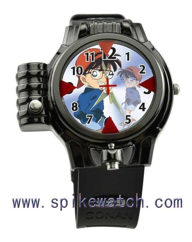 Custom Design Children Favorite Laser Watch Detective Conan