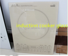 Heat strengthened glass,Borosilicate glass, induction cooker glass