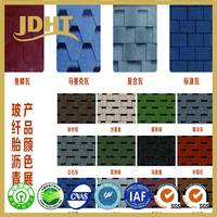 JD-254 Mineral Design APP and SBS Colorful Granular modified Bitumen roofing waterproof roll
