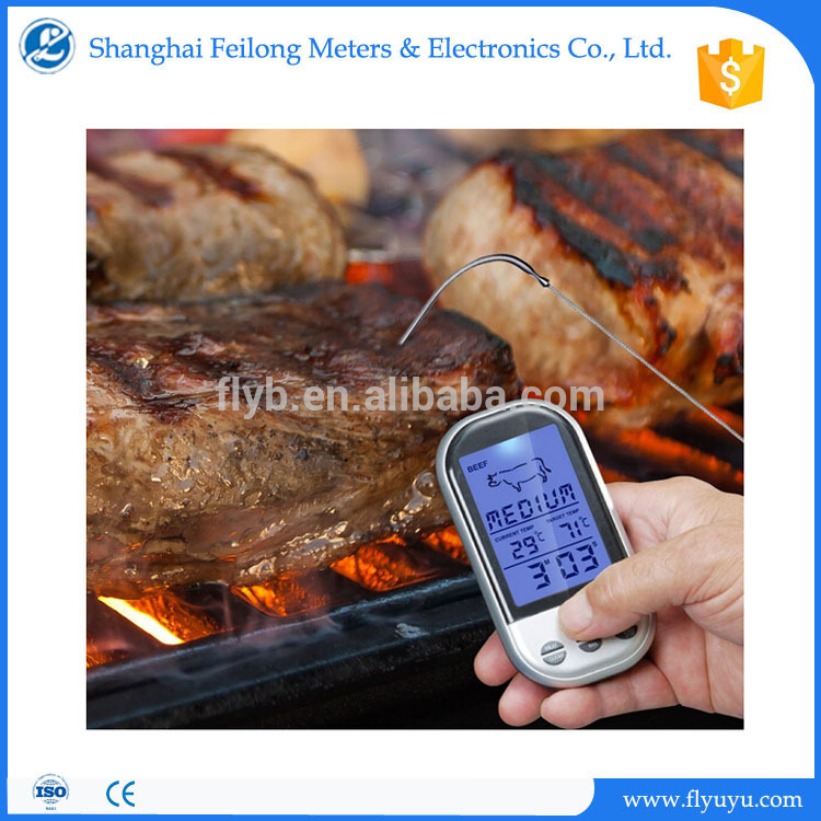 digital solar powered heat resistant silicone gloves temperature and timer