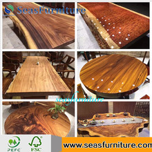 High Quality Antique Walnut Wood Table 100% Solid