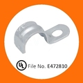 Galvanized Steel One Hole EMT Conduit Strap