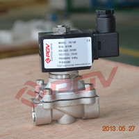 Normally closed direct acting thread 1inch 2/2way solenoid valve 24v