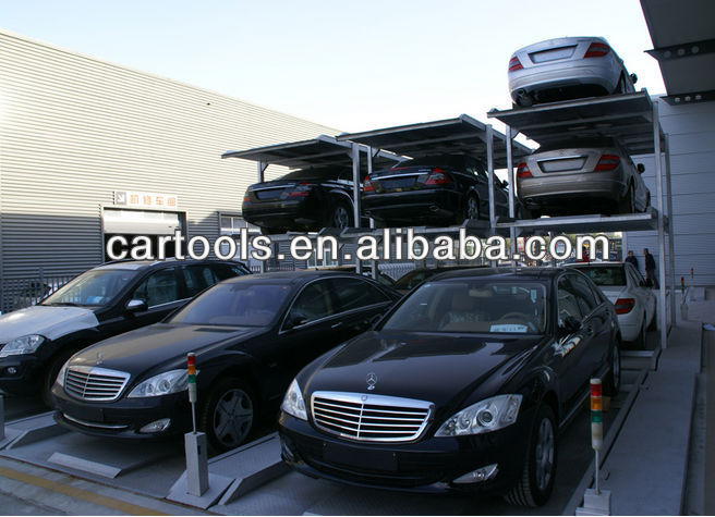 Underground Car Parking Management System