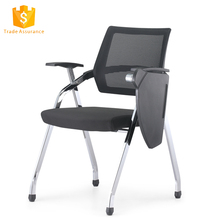 wholesale folding plastic office training chair with tablet