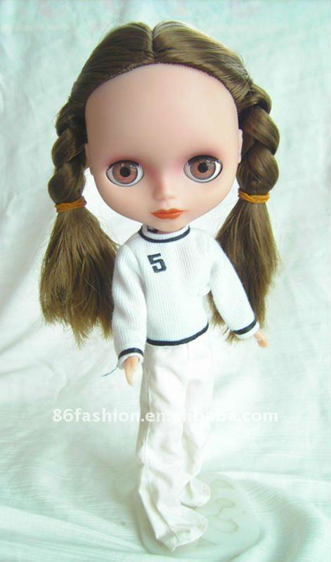 twist braid JC5 girl, beautiful doll, dress up doll