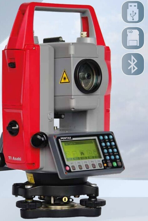 Pentax R-1505N Total Station Price with Bluetooh and USB