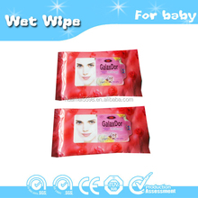 Mini small package adult wet wipes
