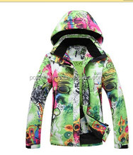 Warmly ladies winter waterproof outdoor winter thermal suit