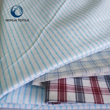 Custom 100 cotton yarn dyed check shirt fabric