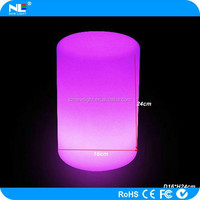 LED Cylinder lamp for restaurant table and bar and party and wedding decoration