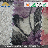 Camouflage Pvc Leather Nonwoven Spunlace Backing