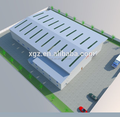 Low cost steel structure warehouse logistics
