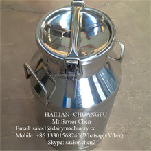 50L Stainless Steel Milk Can For Dairy Milk Transportation