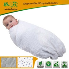 Brand new swaddle printed fleece blanket made in yiwu