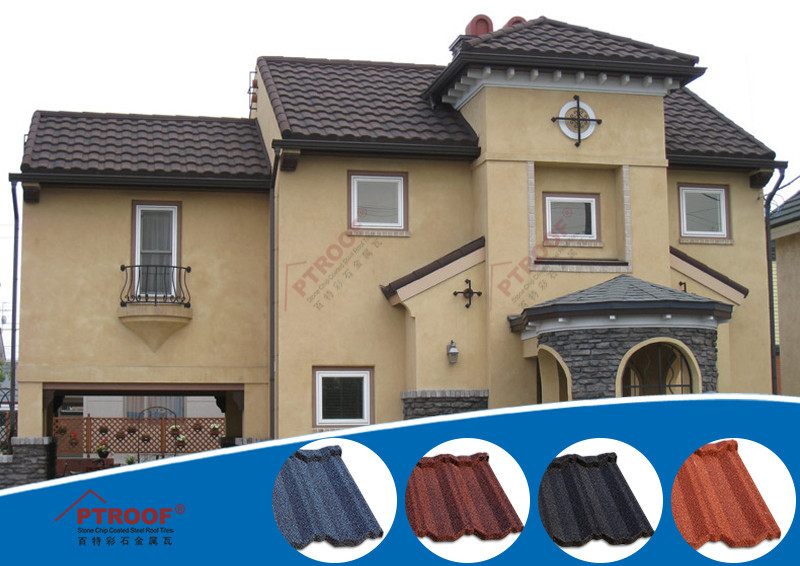 Good quality windproof eagle roof tile 2014 best selling