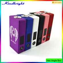 Hot new products for 2015 1:1 Clone Huge Vape Box Mod Sniper Box Mod/hex angle box mod with fast shipping
