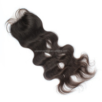 Brazilian Hairpieces Body Wave Lace Closure