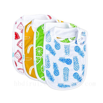 Cheap cute customized baby bib manufacturers usa