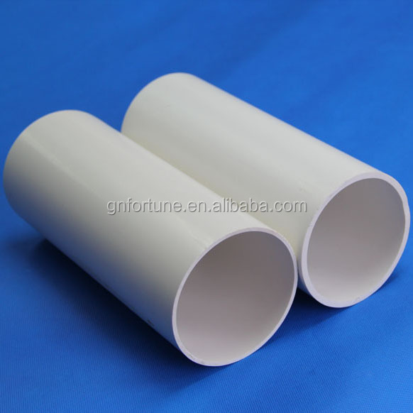 High temperature rating pvc pipe size pvc conduit pipe 50mm