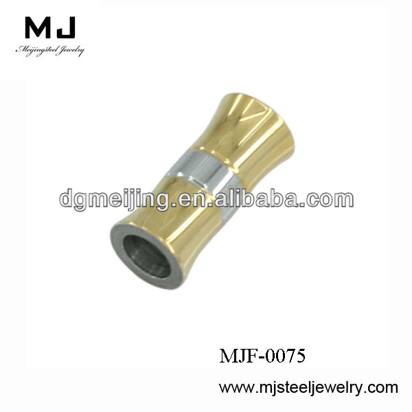 Wholesale High quality jewelry finding and componts necklace clasp stainless steel jewelry findings (MJF-0075)