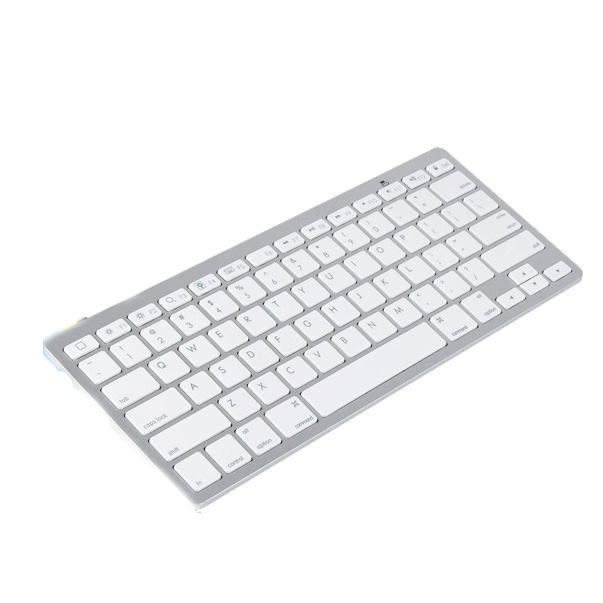 best price white ultra slim spanish bluetooth wireless keyboard for ipad mini 4