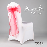 wholesale lace organza chair Sashes in chair cover for wedding /spanquet/party