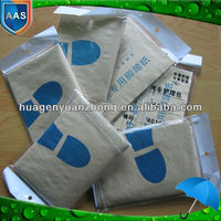 clear disposable plastic car care product