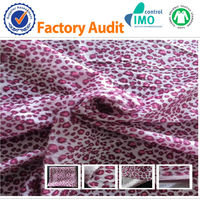 100%polyester 150D printed fleece fabric