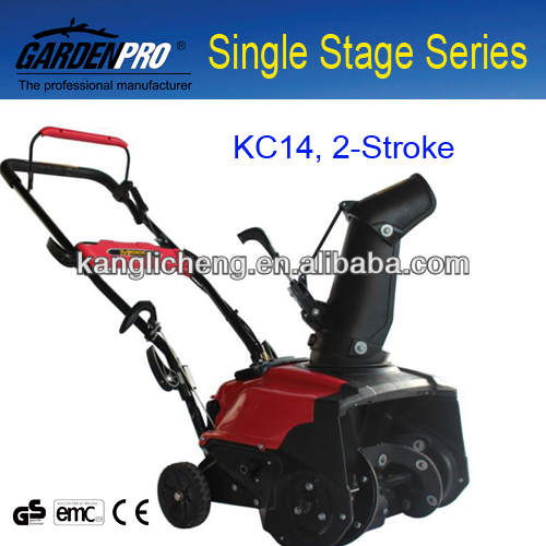 2 Stroke Portable Snow Blower KC14 Cheap Snow Blower