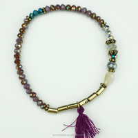 Fashion design bracelet with tassel for lady