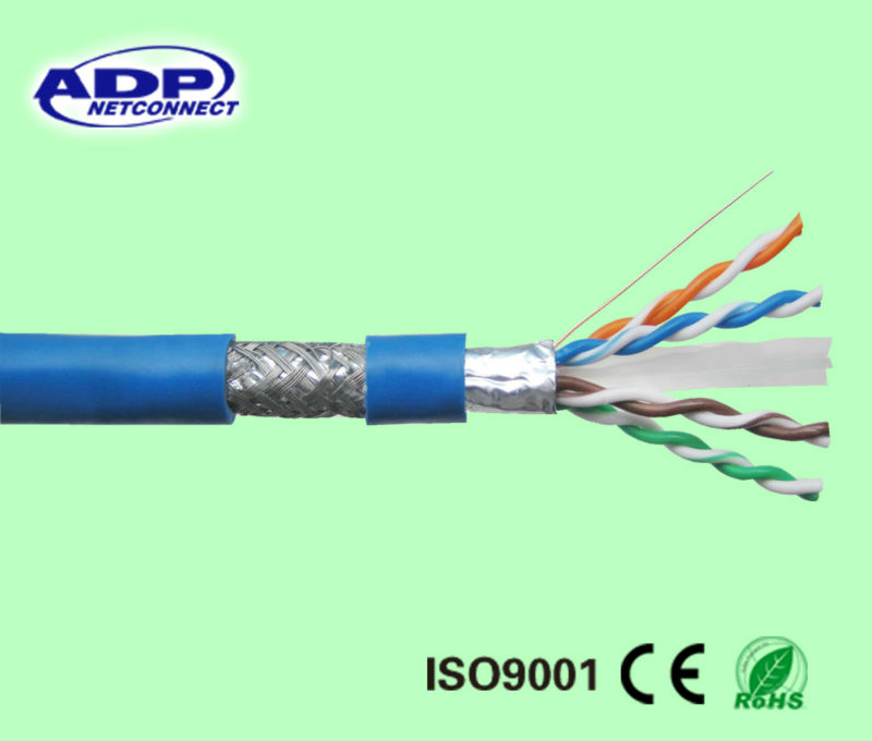 Good quality cat 6 sftp networking cable made ADP in China